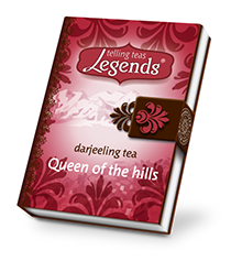 Rosens design packaging -Legends of tea
